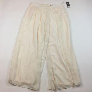 NEW Jennifer Lopez Palazzo wide Dress pants II9